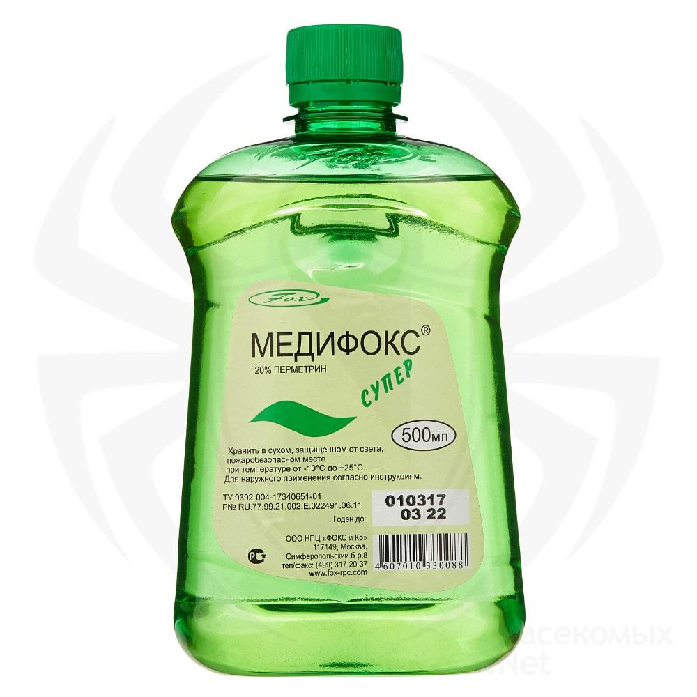Купить Медифокс Супер, 500 мл средство от насекомых